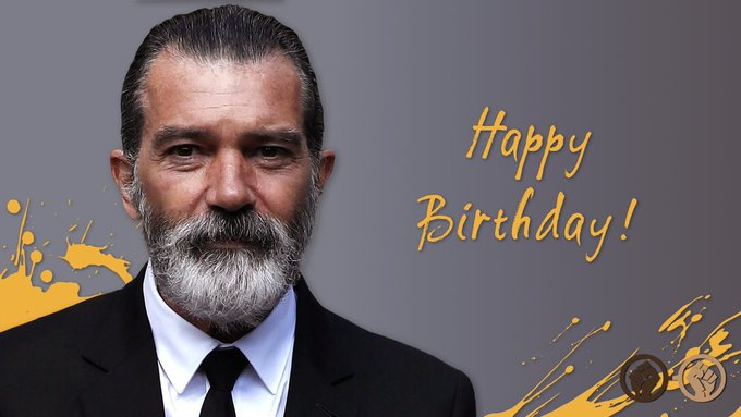 Happy birthday, Antonio Banderas! The talented actor turns 58 today. We hope he\s having a great day!
