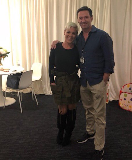 The amazing @Pink One of the best concerts I have ever seen! And, she's been sick all week. Inspiring. https://t.co/MDADgnUUE9