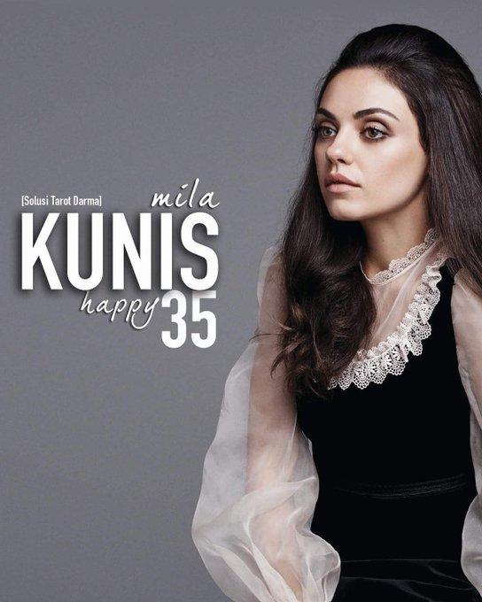 Happy Birthday Mila Kunis.