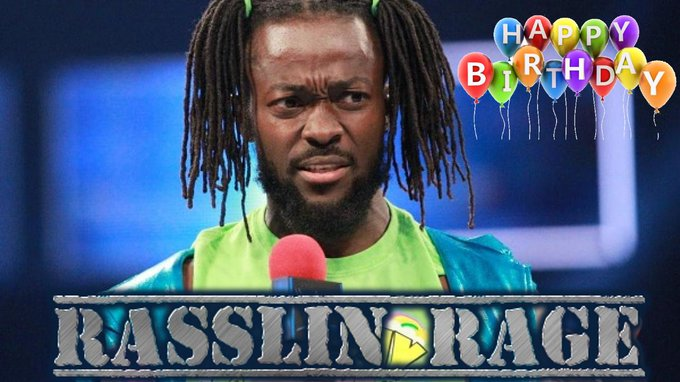 Happy Birthday to current WWE Superstar and New Day member, Kofi Kingston!