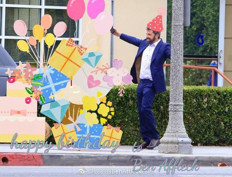 Happy birthday to Ben Affleck
