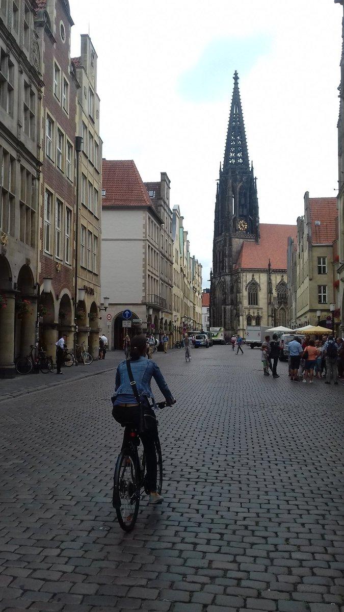 Passage à Münster, en Allemagne, pas dans les Vosges !