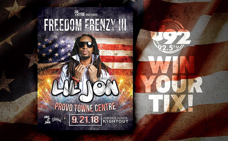 RT @U92SLC: Win your @LilJon tickets all next week! https://t.co/bkW54Vy7GN