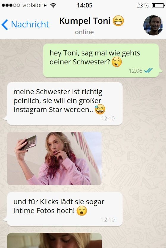 Tonis Schwester postet sehr private Fotos!  ++++ GANZES BILD : https://t.co/IWDFvpSbVF ++++ https://t.co/np1fp6wOAC