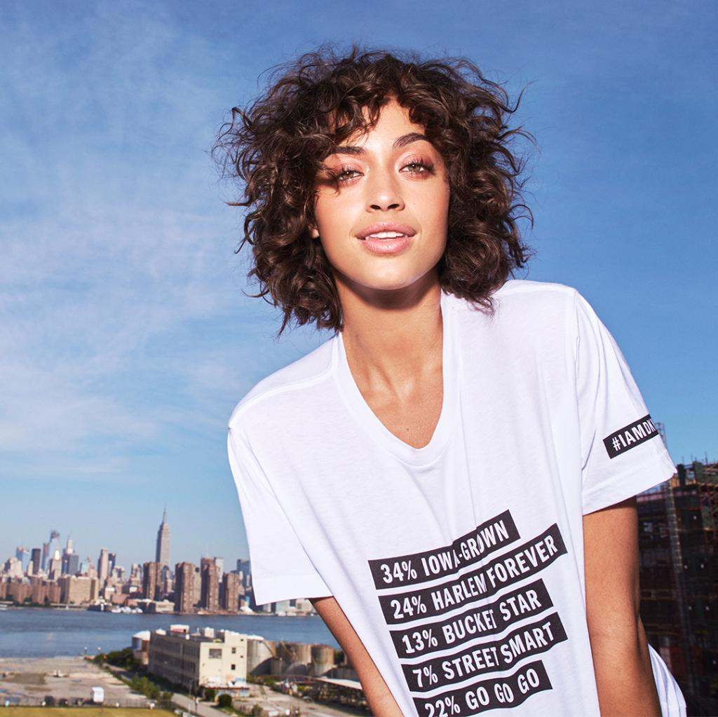 Fall 2018 Campaign Star Alanna Arrington Shares What Makes Her 100 Dkny In Her Custom
