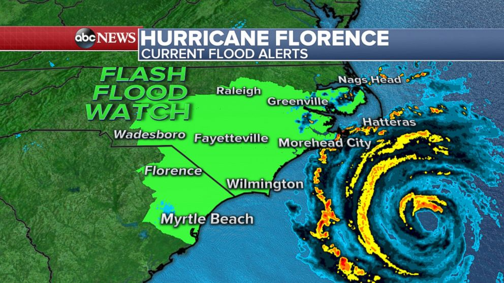 Beyond The Coastline Hurricane Florence Is Expected To Bring