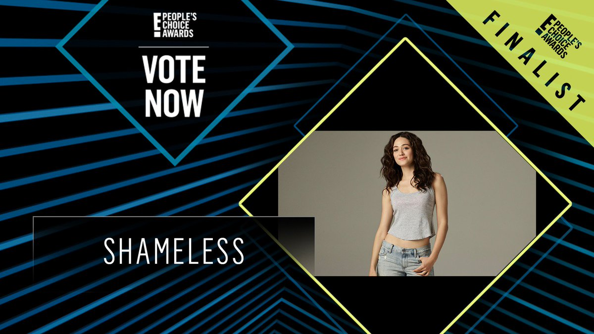 RT @peopleschoice: Vote for Shameless by retweeting this post: #Shameless #TheBingeworthyShow #PCAs https://t.co/nVS8WUEogQ