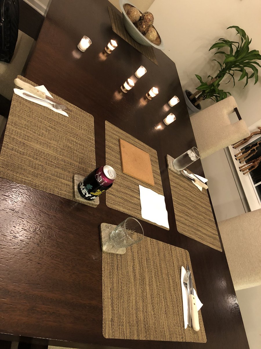 #mondaynight Table Set Up ZsdA6kpXtY