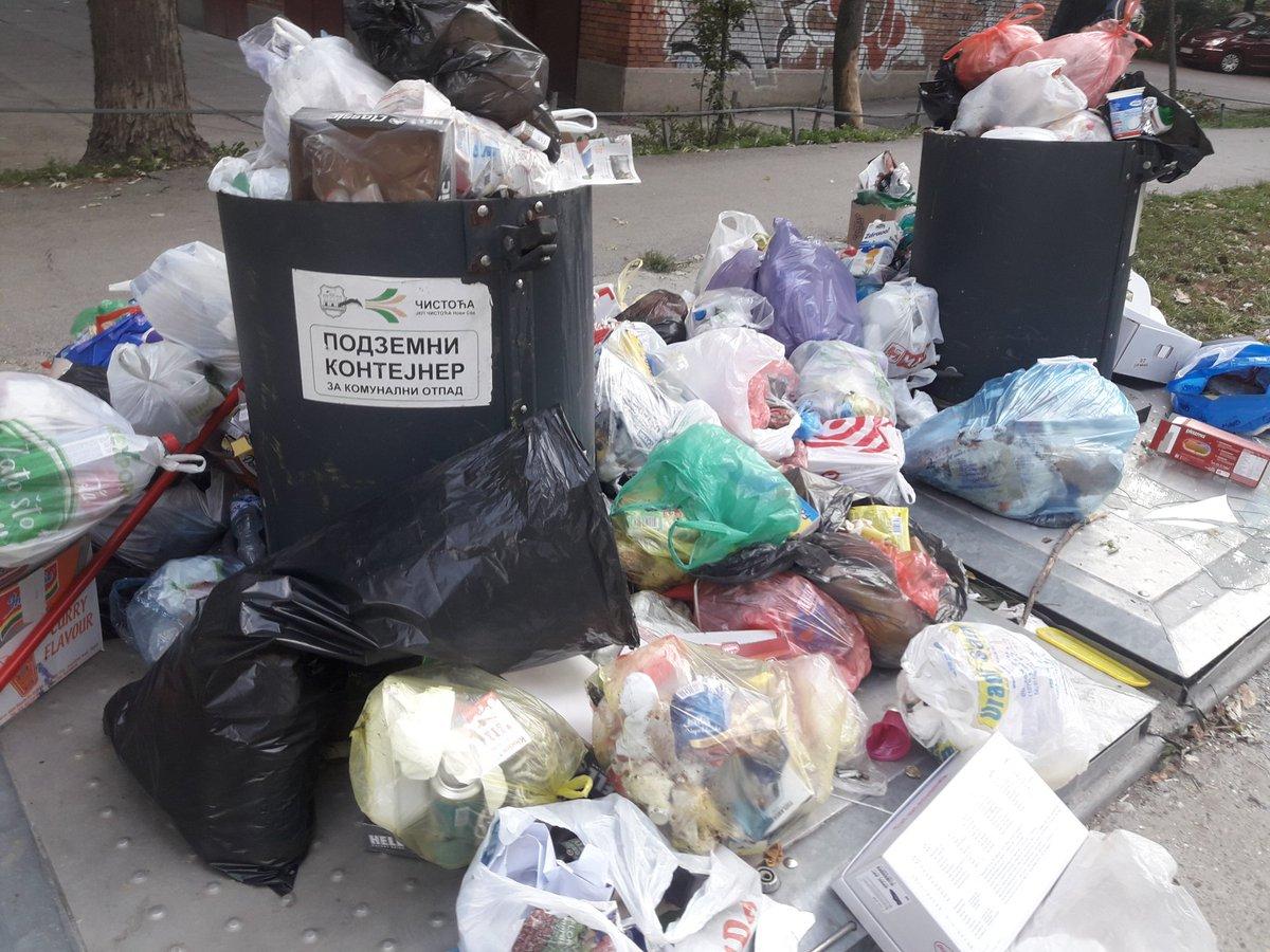 test Twitter Media - Dobro jutro Novi Sade od cistog grada ostao samo naziv JKP #CistocaNoviSad @NSmojgrad @NoviSadGrad Kad tenerski platite 5.000 Eura podzemni kontejner i 250.000 Eura kamion smecar red bi bio i da ih koristite. #odgovornoupravljanjeotpadom https://t.co/AHp6gmMaIY