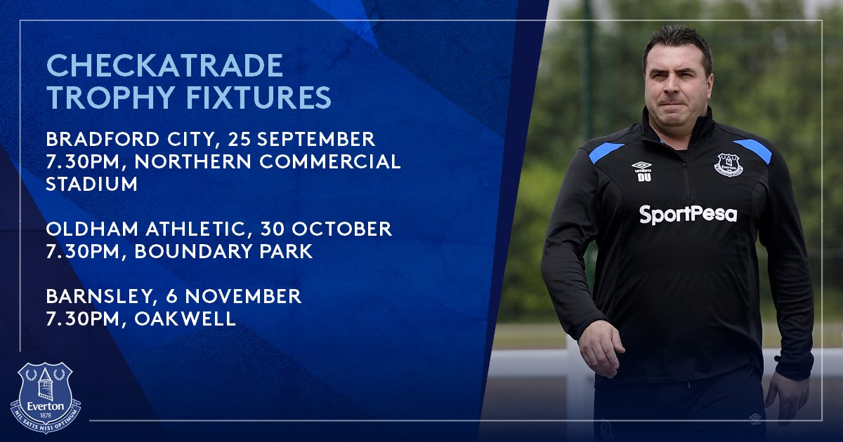 🏆   @CheckatradeTrpy group fixtures confirmed for an #EFCU21 side.  More ➡️ https://t.co/9C2RzKv1zD https://t.co/qeHmJ7mag4
