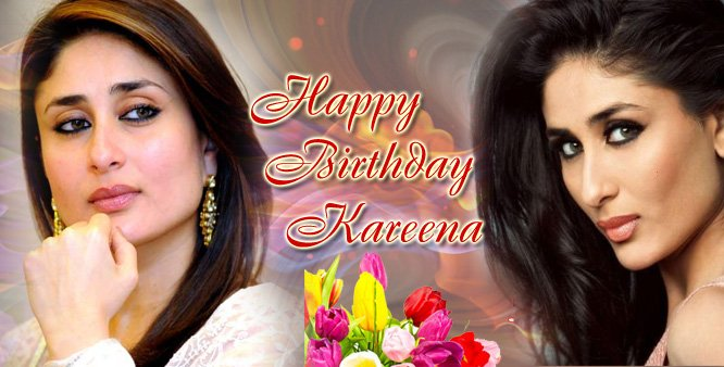 Wishing you a very happy birthday Kareena Kapoor.