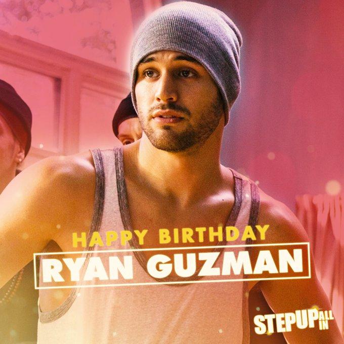 Happy birthday to the incredible Ryan Guzman!