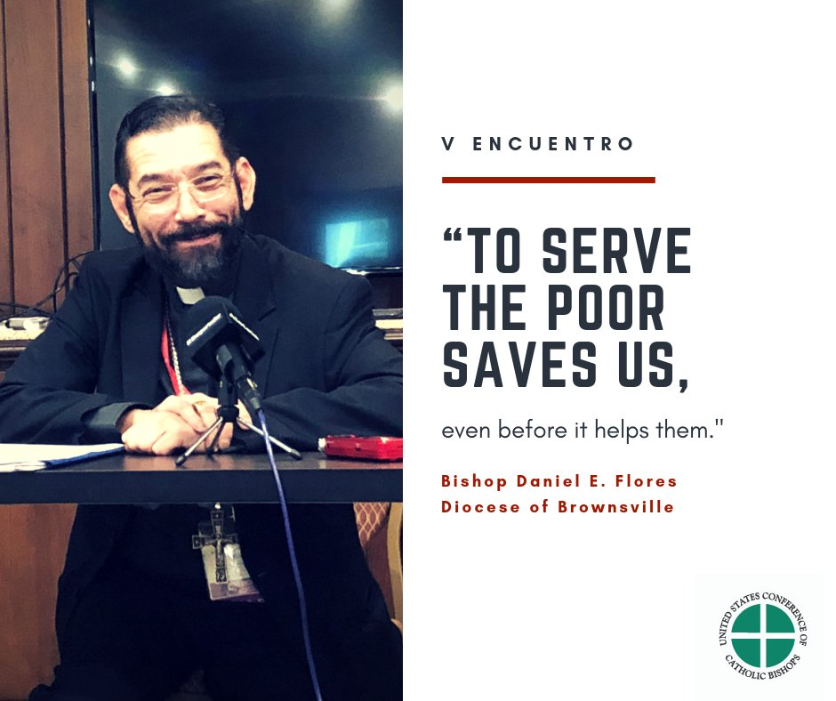 test Twitter Media - .@bpdflores at #VEncuentro, speaking of the importance of seeing the humanity of those on the margins. https://t.co/4sEMOas9pS