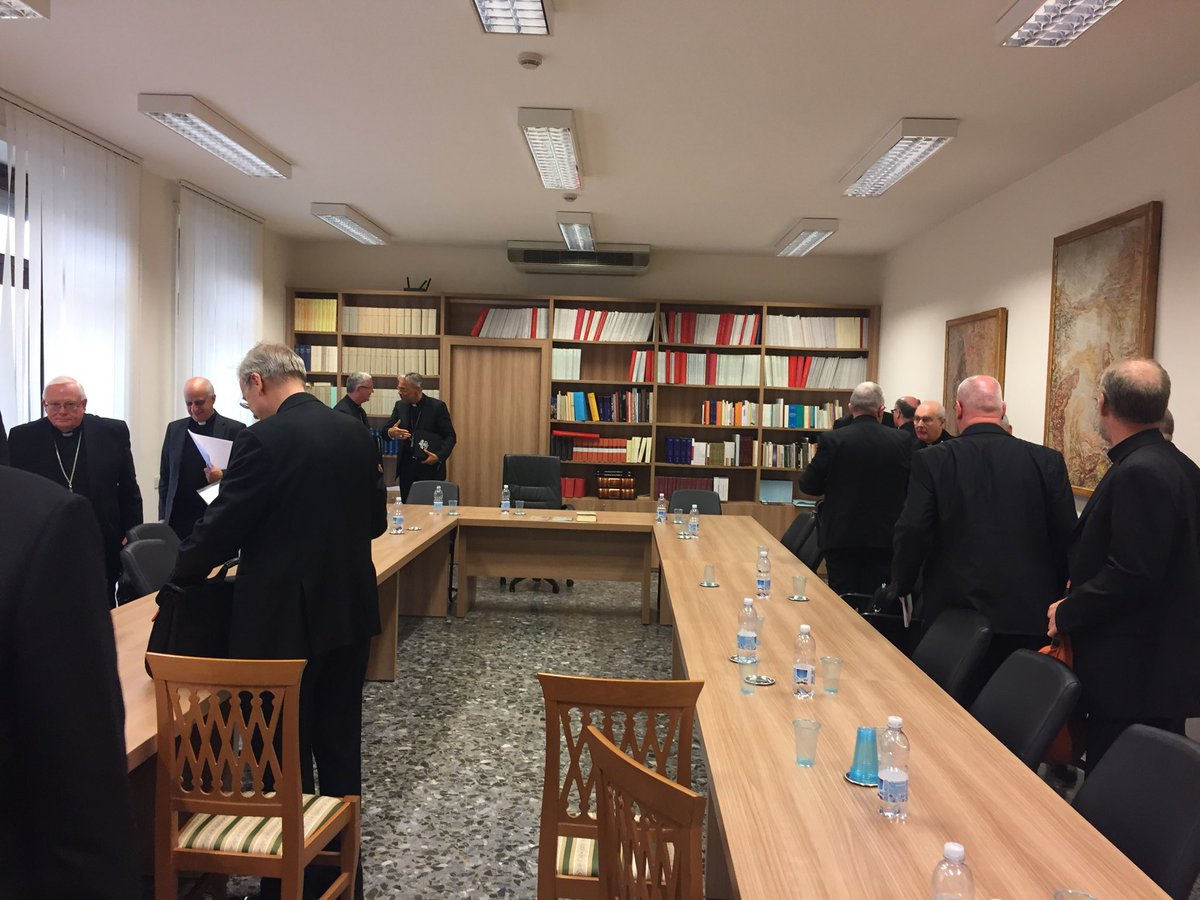 test Twitter Media - Here we are leaving the Pont Council for New Evangelisation. Abp Fisichella spoke about the forthcoming Directory for Catechesis. He also said the Bishop in his Diocese is the Prime Catechist and like the Pope on Wednesdays, he should give regular Catechesis. https://t.co/sBOOLNz9rj