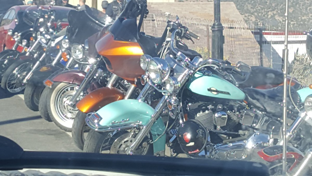 1 pic. So I took some time away from Twitter went to see all the beautiful bikes that rolled into town