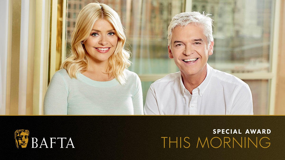 RT @BAFTA: Congratulations to the @thismorning team! ???? https://t.co/lzDMLznKTB