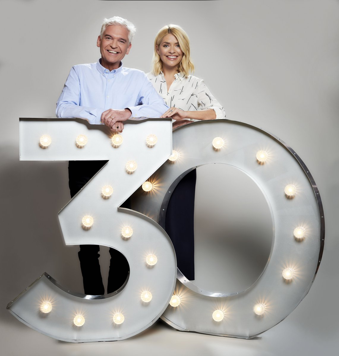 RT @ITV: Established in 1988.  @ThisMorning - 30 Unforgettable Years. Tonight 7.30pm @ITV. @hollywills @schofe https://t.co/bTblApE2CH