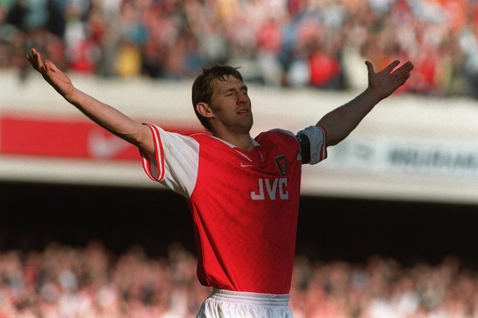 Happy Birthday. Tony Adams the greatest Arsenal Defender & Captain of all time.