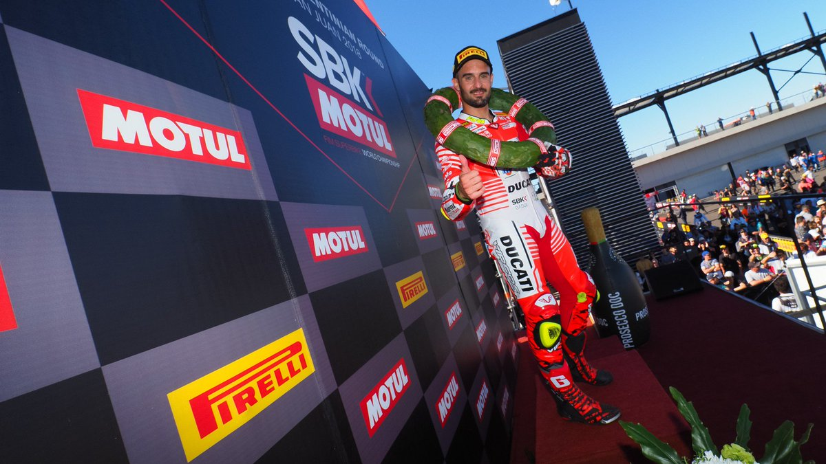 test Twitter Media - BARNI Racing Team and @XaviFores secure Independent championship🏆  Ducati team come out on 🔝 as first ever independent champions  #ARGWorldSBK 🇦🇷  📰REPORT | #WorldSBK https://t.co/WwqjbhoWWp https://t.co/xwkPNJzvVP