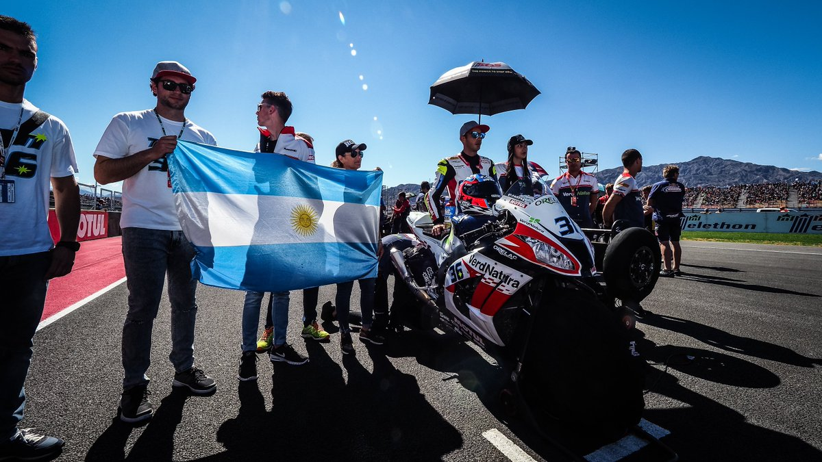 "test Twitter Media - .@TatiMercado36 ""The crowd was amazing here all weekend""🙌  Mercado leaves home round with good memories but fewer points than he had wished for  #ARGWorldSBK 🇦🇷  📰REPORT 