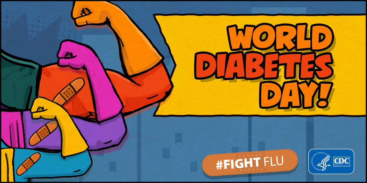 test Twitter Media - Today is #WorldDiabetesDay.  Studies have found flu vaccination is associated with reducing hospitalizations among those living with diabetes by 80%.    If you or a loved one are living with #diabetes, get a #flu vaccine now. Follow @CDCDiabetes for more. https://t.co/v461jxoW55 https://t.co/1UNHL96DNK