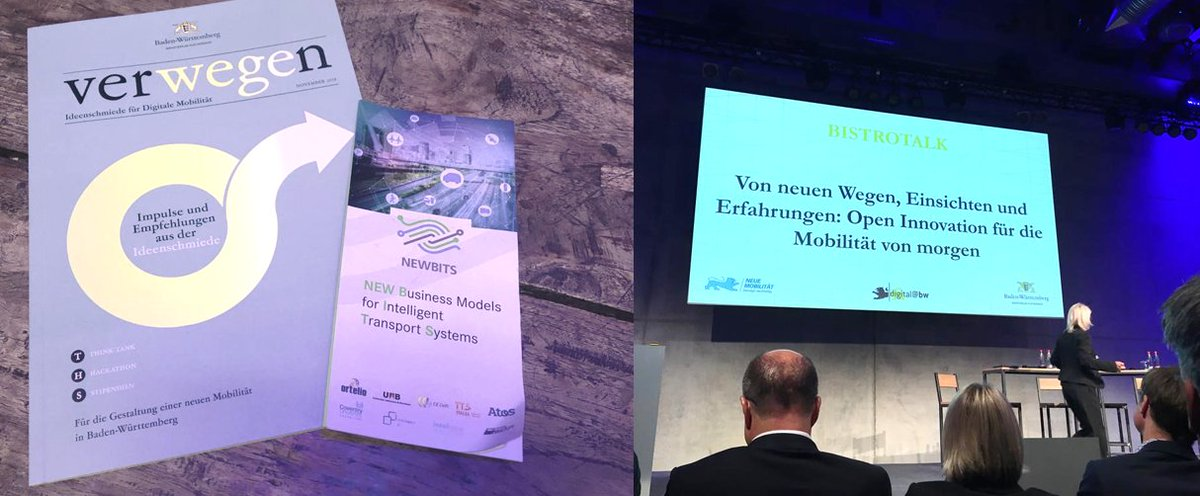 "test Twitter Media - Our @NEWBITS_CITS partner from @SEZ_Europa attends the ""Ideas conference on digital mobility"" in Stuttgart & gathers fresh ideas for the #digital and sustainable #mobility of the future! @digitalmobilBW #verWEGEn https://t.co/9KUTocCetD"