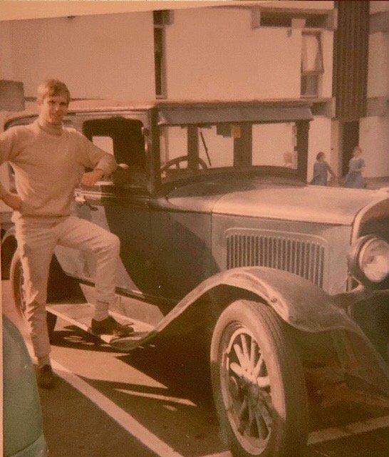 RT @TwoPaddocks: My first car. $25. It went sometimes. https://t.co/YpyIJS2MFq