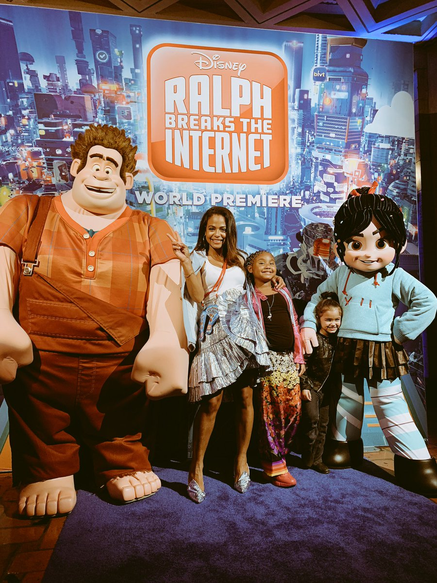 #RalphBreaksTheInternet and we witnessed it! So much fun what a good https://t.co/A59brlRpyx