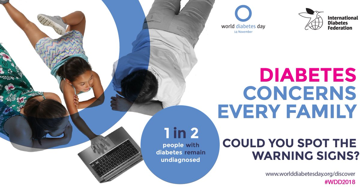 test Twitter Media - #WorldDiabetesDay has come and gone but #diabetes awareness month continues! Please continue to show your support for improved education and awareness of the #diabetes warning signs to diagnose and treat diabetes early. https://t.co/ApIKMsgb0V #WDD2018 #familyanddiabetes https://t.co/AGGwyVNHi3