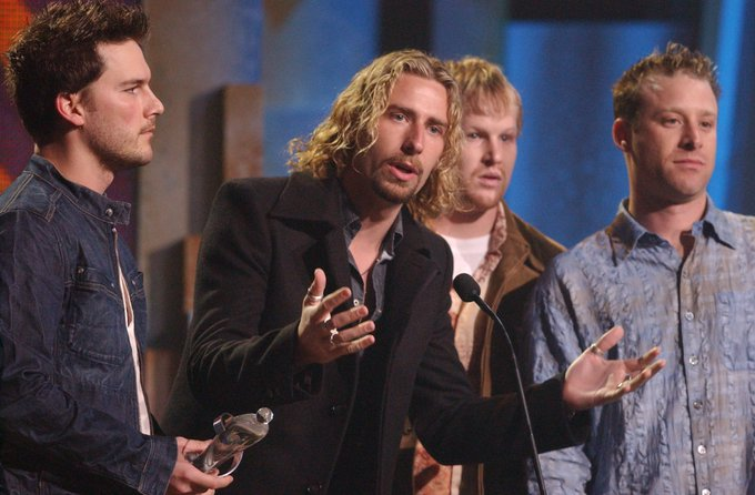 Happy Birthday to Chad Kroeger of 12x Award winning group