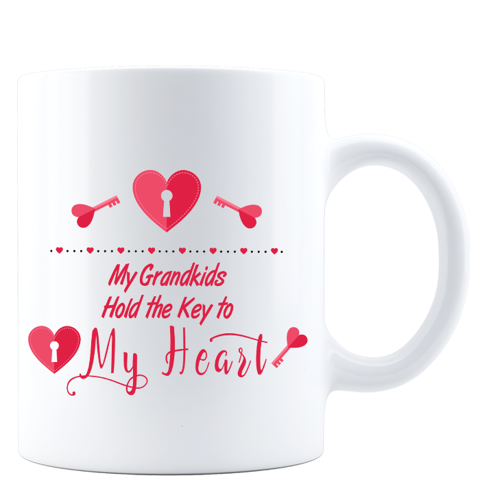 My Grandkids Hold the Key to My Heart Mug USD 17.95 https://t.co/Rxp9Jp0g4l https://t.co/3n7eOrsfQn