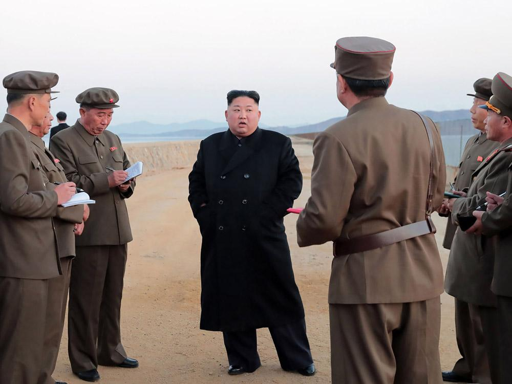 Kim Jong Un has inspected a new 'ultramodern tactical weapon': North Korea media