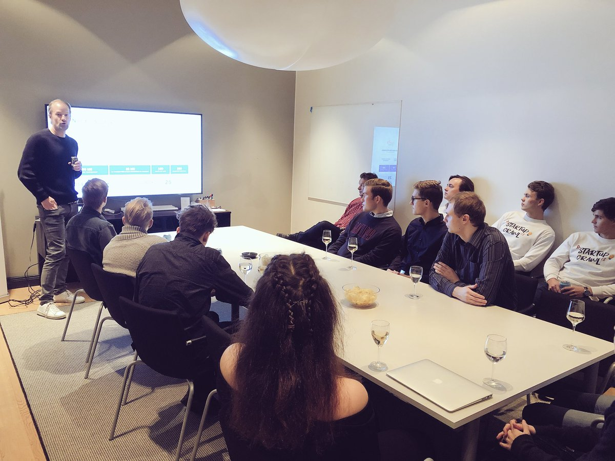 test Twitter Media - Paying forward is one of the core values within the #startup ecosystem - tonight we hosted groups from @hankenes and @aaltoes during their #startupcrawl and talked all about the ins and outs of #venturecapital!   Thanks for stopping by! 🍻 https://t.co/7s6RTN8C7p