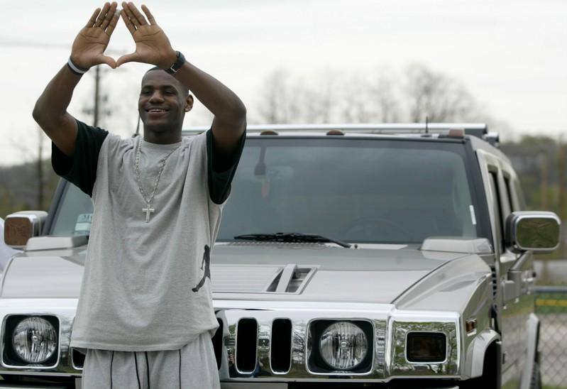 LeBron's HS car to drive hard bargain at auction