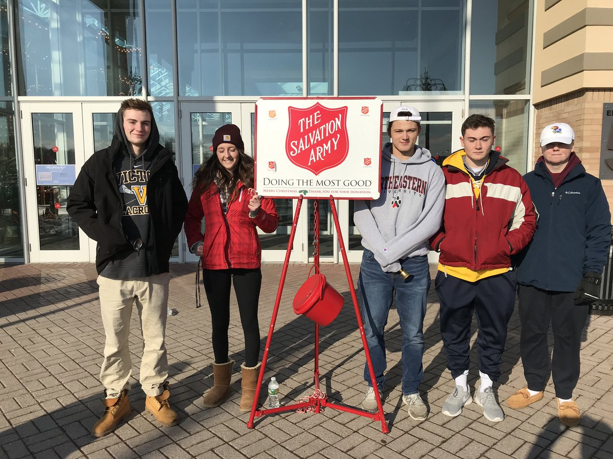 RT @Victor_DECA: Great time today at the Eastview mall, bell ringing for the Salvation Army @SalArmyROC #ReadyForIt https://t.co/GFLdQmTW7Z