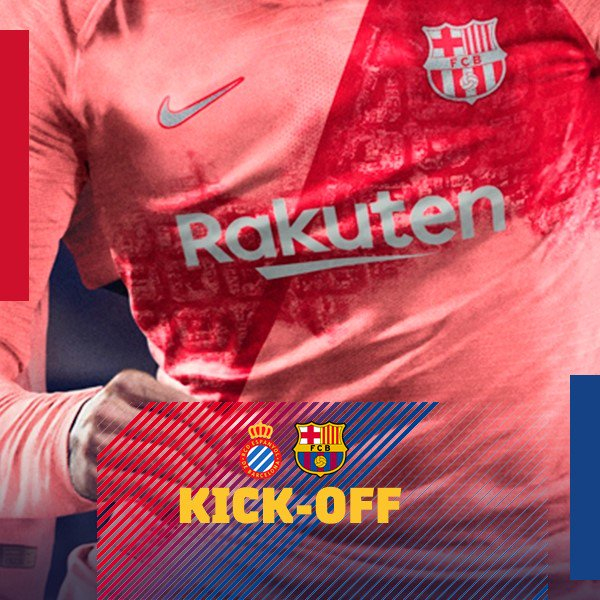 RT @FCBarcelona: #EspanyolBarça gets under way at the RCDE Stadium! ???????? Let's goooooo Barça!!!! https://t.co/eSbePdYLT6