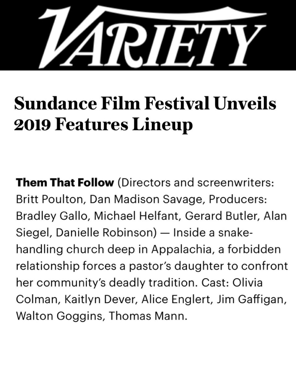 Coming for you, Park City. Thank you, @sundancefest! #Sundance https://t.co/oj9Zdb8Ho9