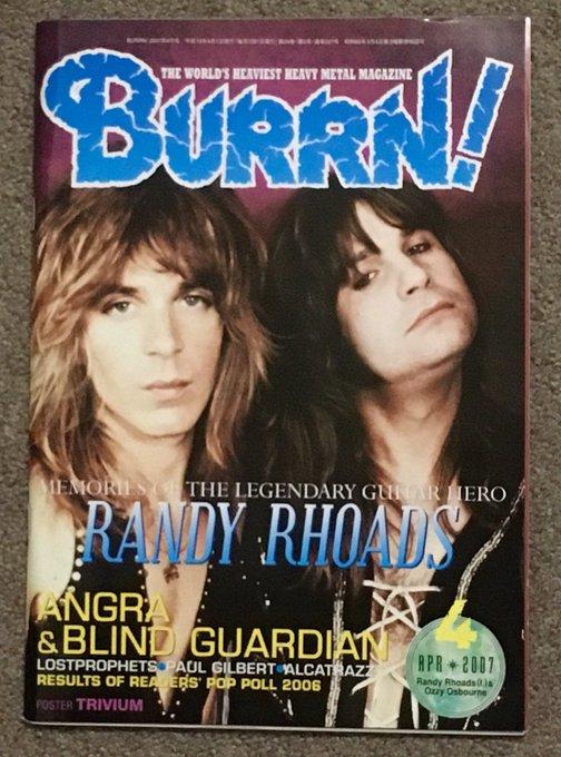 Happy  Birthday Randy Rhoads  cheers