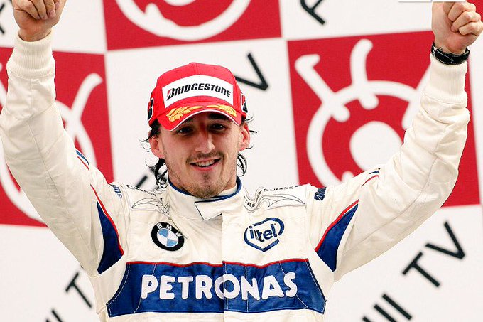 Happy 34th Birthday to Robert Kubica!