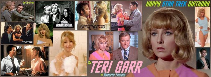 Happy birthday to Teri Garr, born December 11,1947.