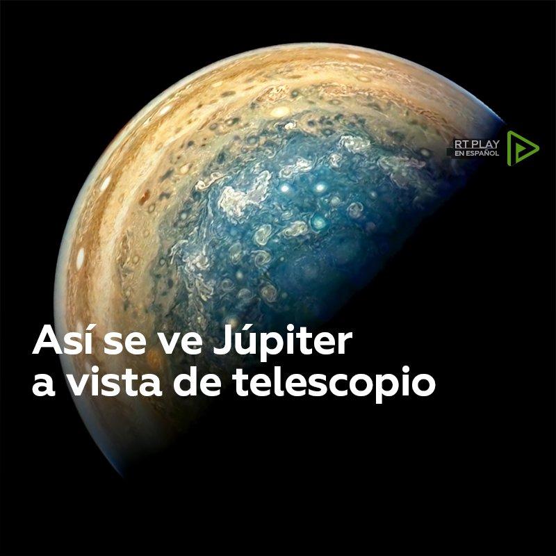 No son efectos especiales... Son imágenes reales de Júpiter 🎥⬇ https://t.co/movL4N9Bw8