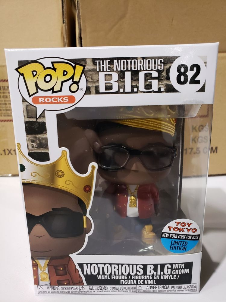 test Twitter Media - Funko Pop Notorious BIG NYCC 2018 Toy Tokyo Exclusive Limited https://t.co/gii89euM3r https://t.co/cHk7L20eWT