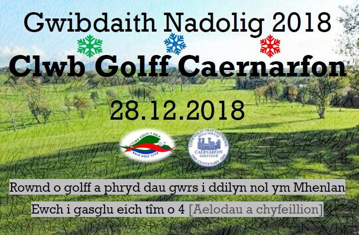 test Twitter Media - *Dymuna Clwb Golff y Bala #NadoligLlawen a #BlwyddynNewyddDda i bawb!* Dewch i ddathlu'r Nadolig gyda gwydred bach o ddiod fore Nadolig rhwng 11 a 1 o'r gloch! Llosgi'r Twrci ar wibdaeth golff y gaeaf @CaernarfonPro ar 28/12 https://t.co/1pbobAllxQ