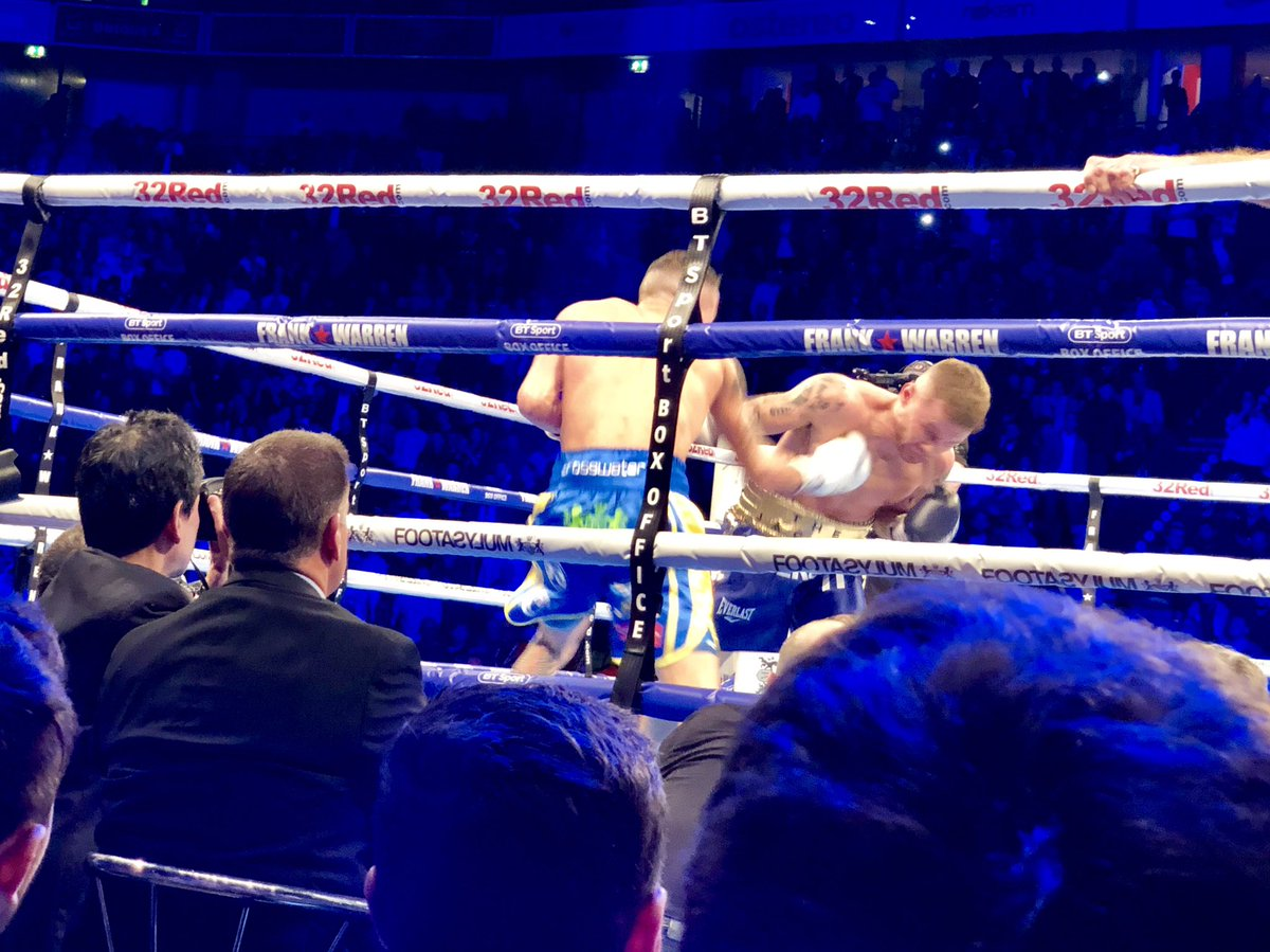 test Twitter Media - Last night saw @J_Warrington retain his #IBFfeatherwieght title beating Frampton by a unanimous decision in #Manchester, tune into @itvcalendar to see more https://t.co/3IItizVGqR