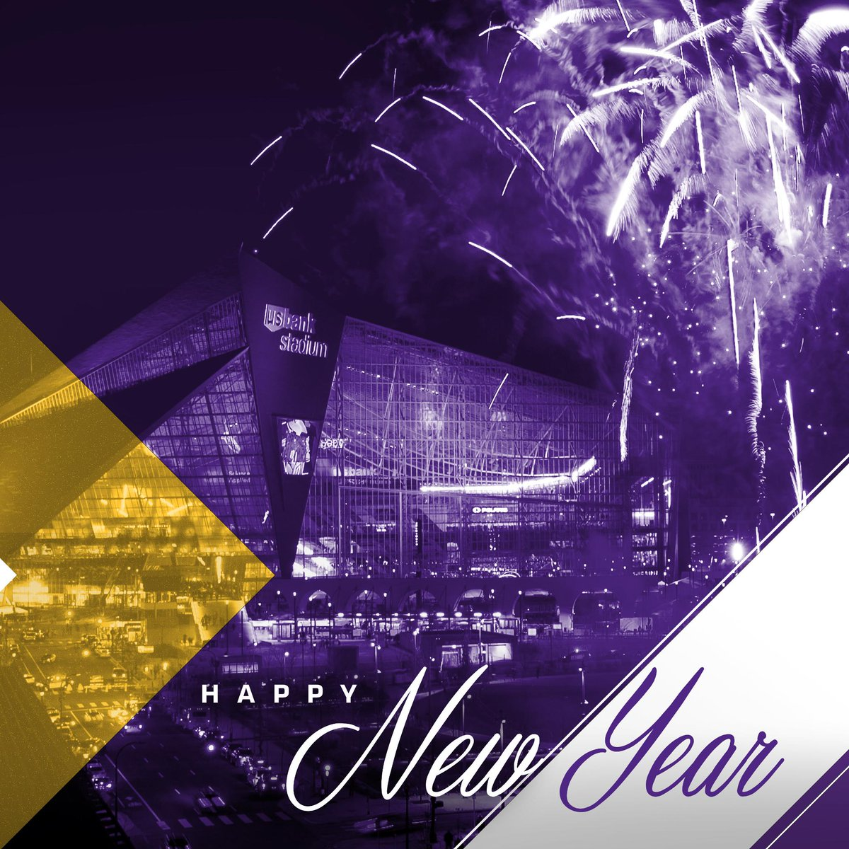 Here S To A Better Year In 2019 Happy New Year Vikings Fans