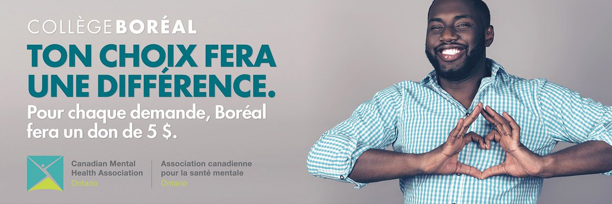 test Twitter Media - Check out @collegeboreal's new #fundraising initiative that supports positive #mentalhealth on campus &throughout the province. For every application, the college is donating $5 to @CMHAOntario & @CMHInnovation. Your choice makes a difference! Learn more: https://t.co/tyfnYYYp0y https://t.co/5hpwVmaSox