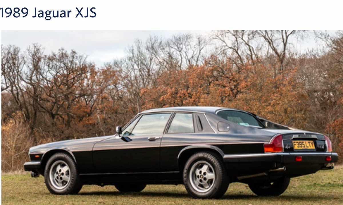Will 2019 be The Year of the XJS? This beauty sold @Silverclassic this weekend. £20K https://t.co/LDK3B6wGlX