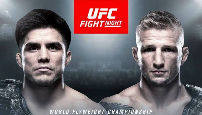 test Twitter Media - Henry Cejudo vs. T.J. Dillashaw Promises History #UFC #HenryCejudo #TJDillashaw #UFCFightNight143 #UFConESPN1 https://t.co/FdFSDYwpes https://t.co/XhmEGVKNAc