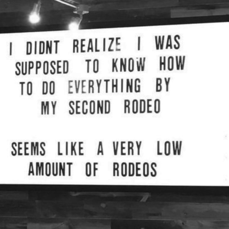 Two seems like too few rodeos imo. https://t.co/cQoSwl0y8y