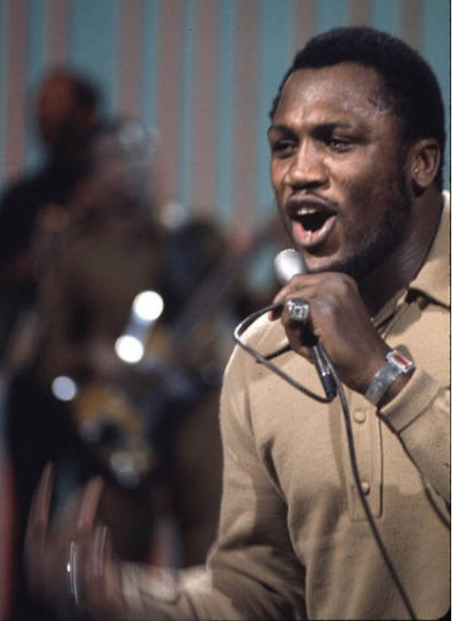 Happy Birthday Joe Frazier (January 12, 1944 November 7, 2011) American professional boxer and singer.